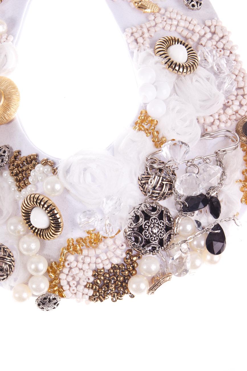 White Necklace Ioana Silaghi image 1