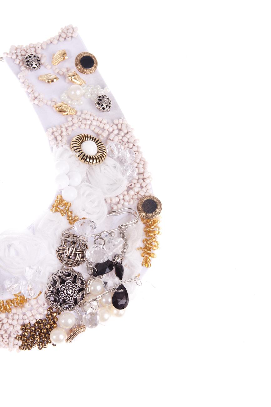 White Necklace Ioana Silaghi image 2