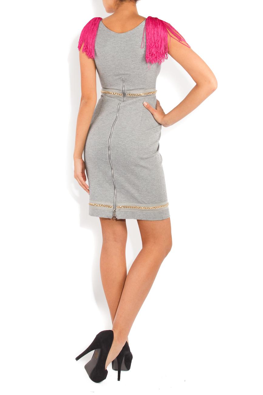 Gray dress Ioana Silaghi image 2