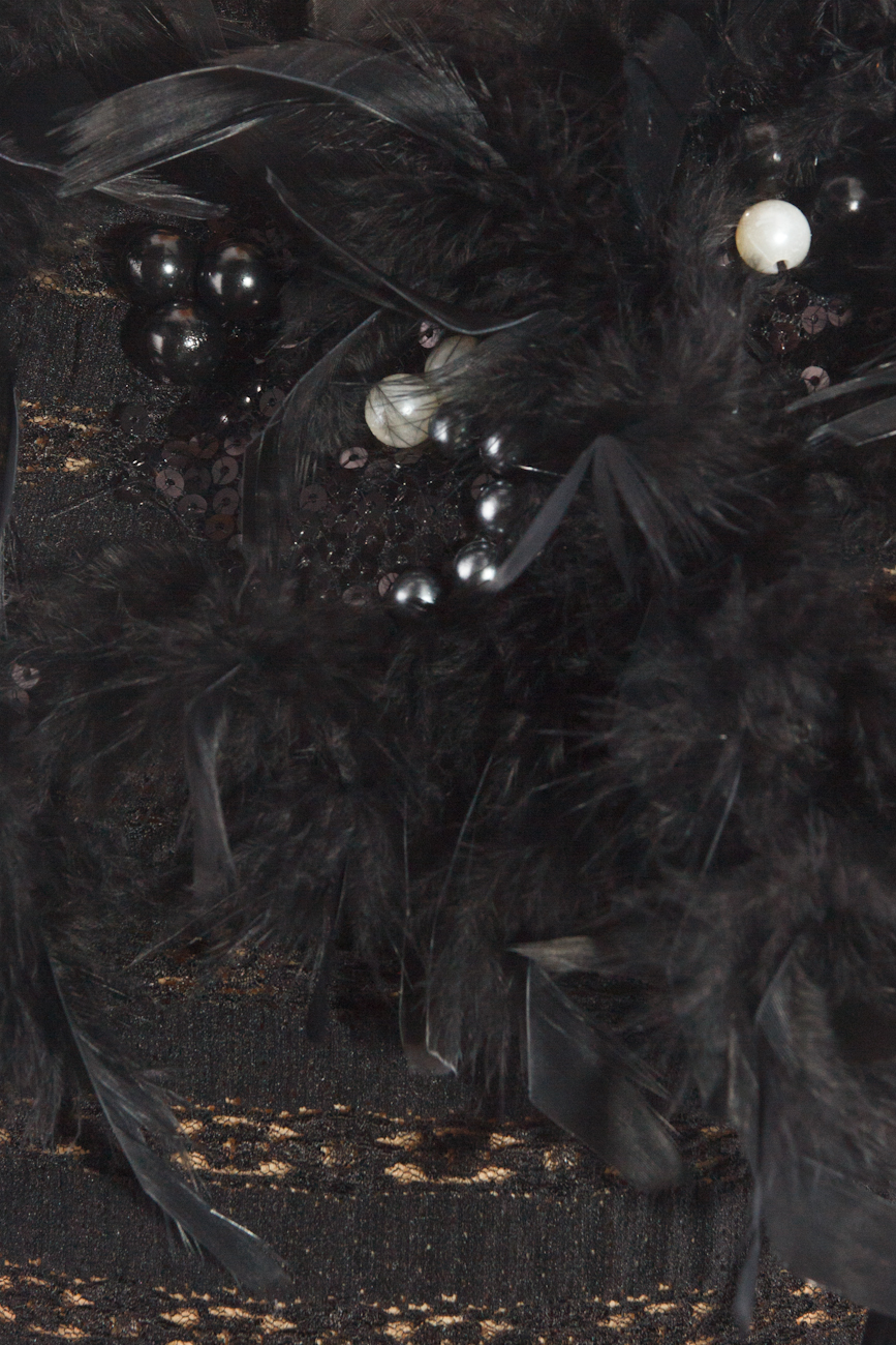 Top with feathers Ioana Silaghi image 3