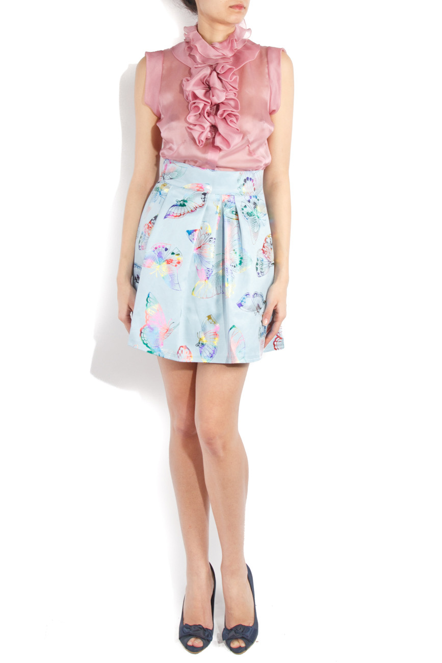 Skirt with butterflies Ioana Silaghi image 0