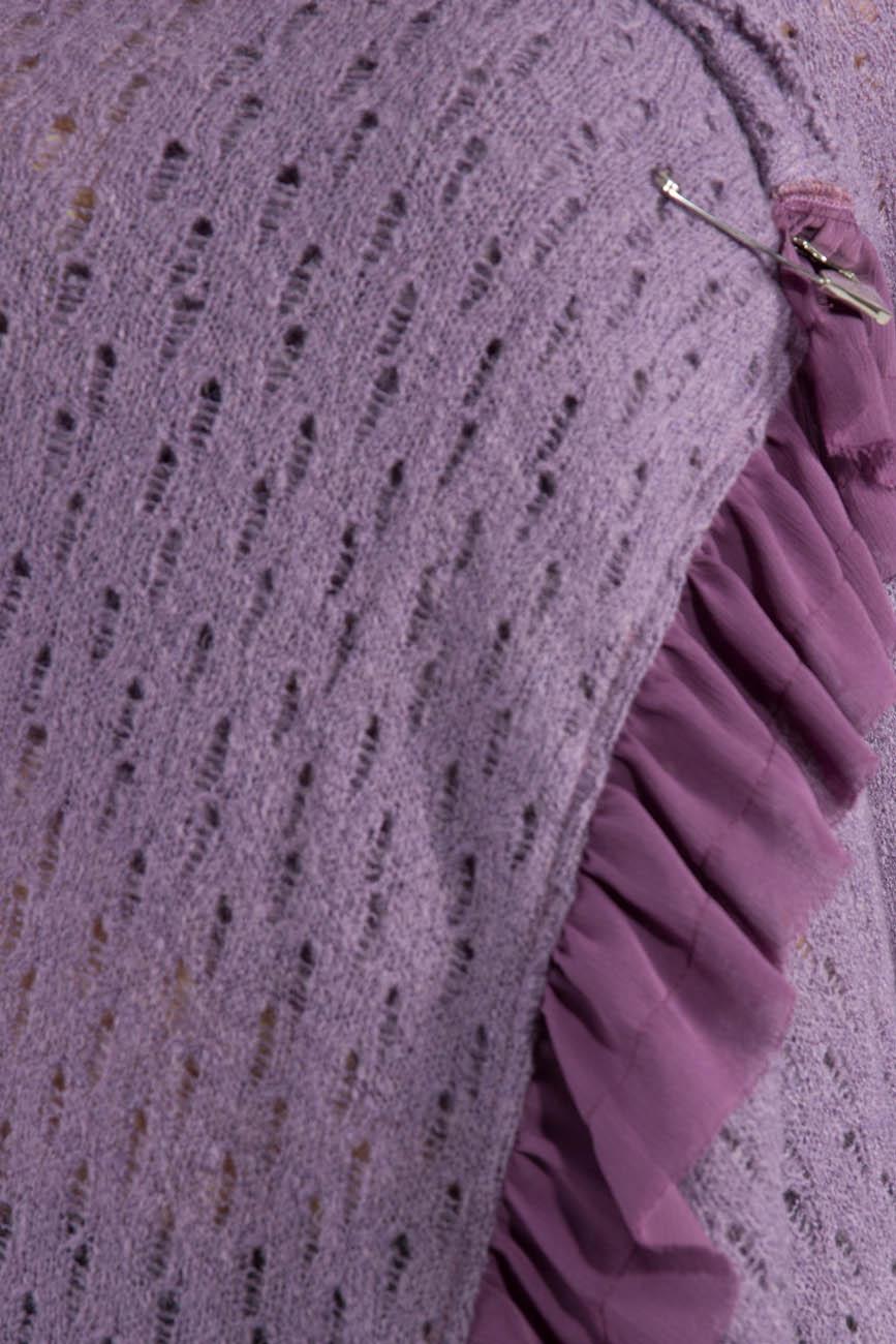 Purple bolero Karmen Herscovici image 2