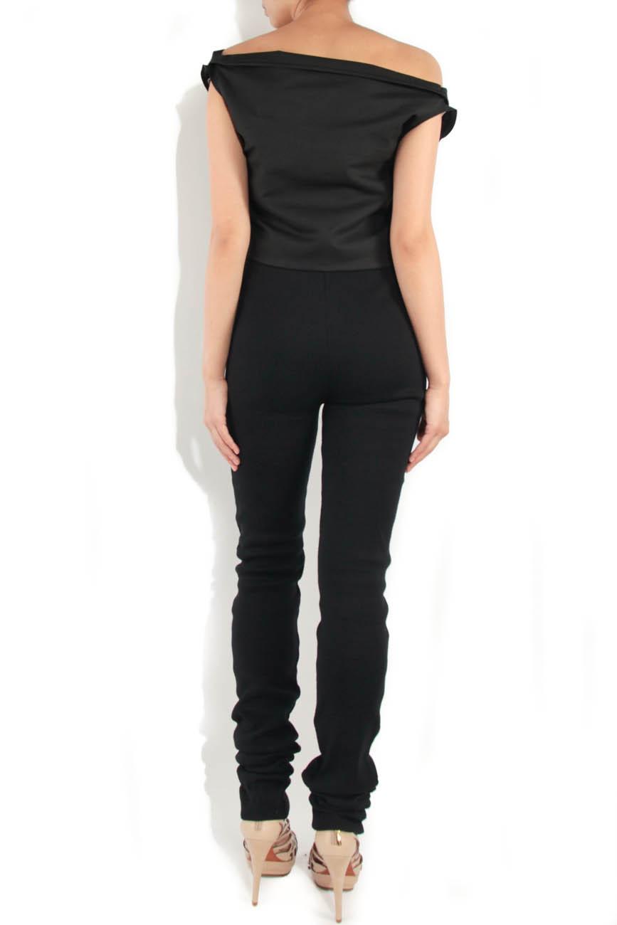 Skinny knitted trousers Simona Semen image 2
