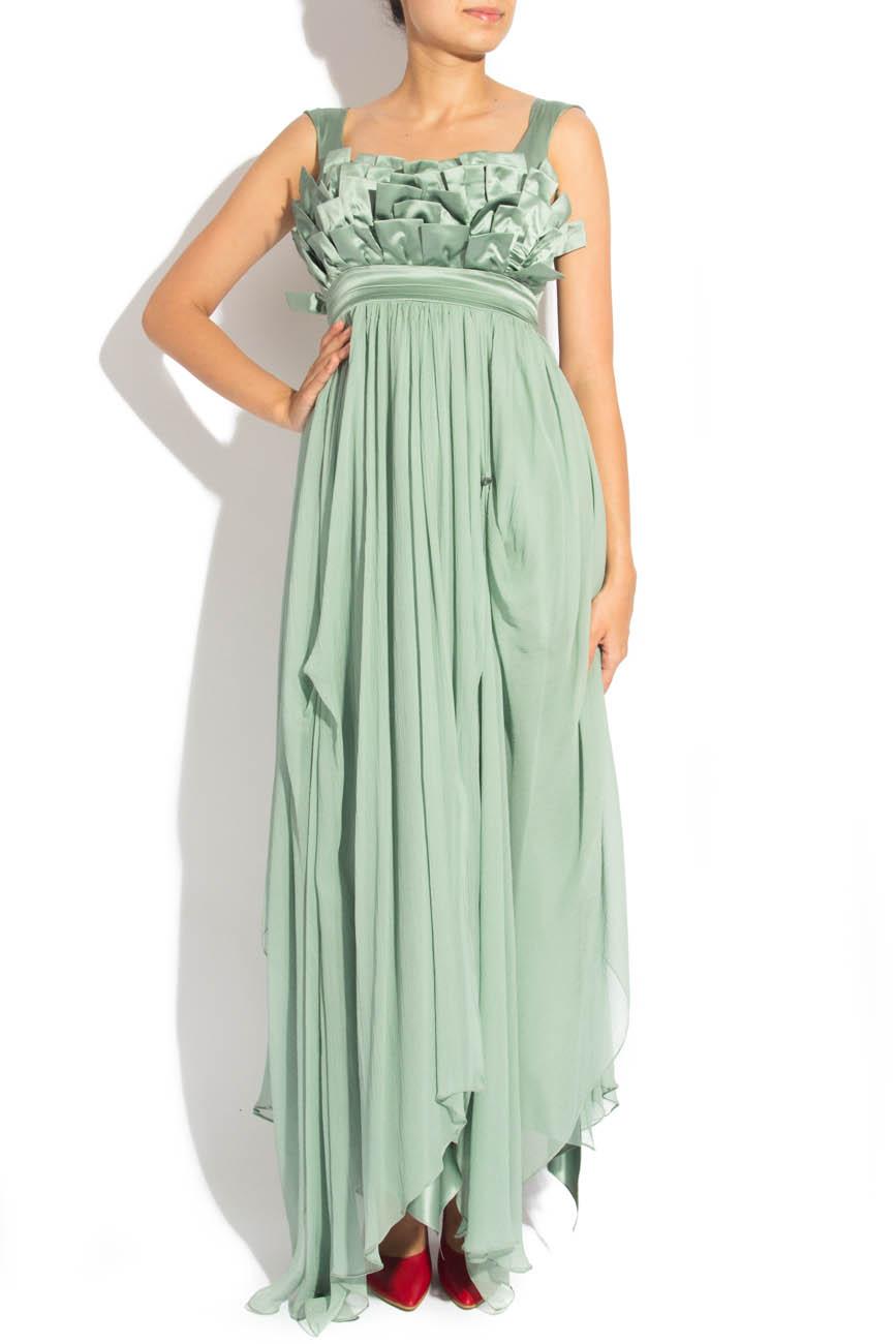Greenish gray dress Elena Perseil image 0