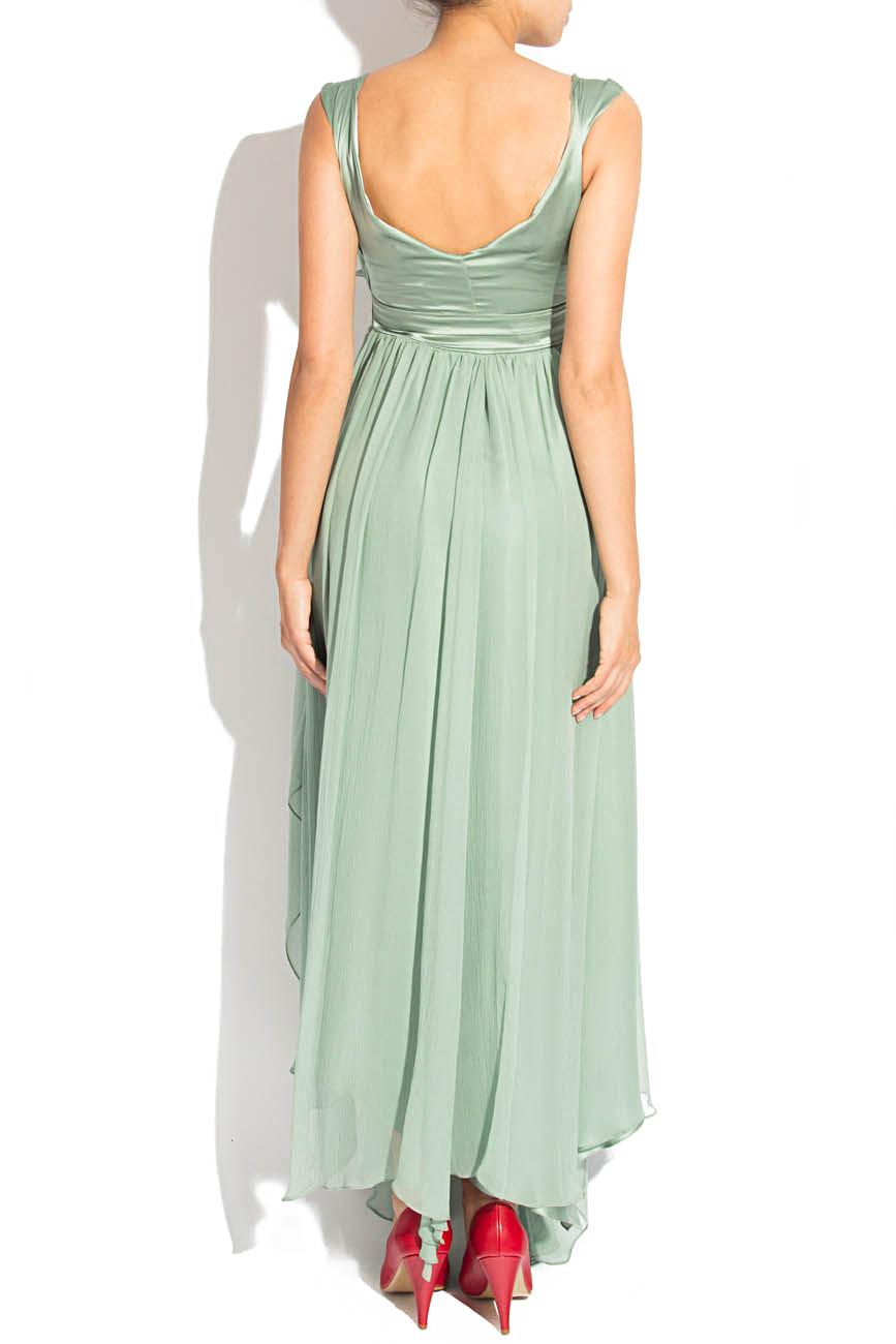 Greenish gray dress Elena Perseil image 2