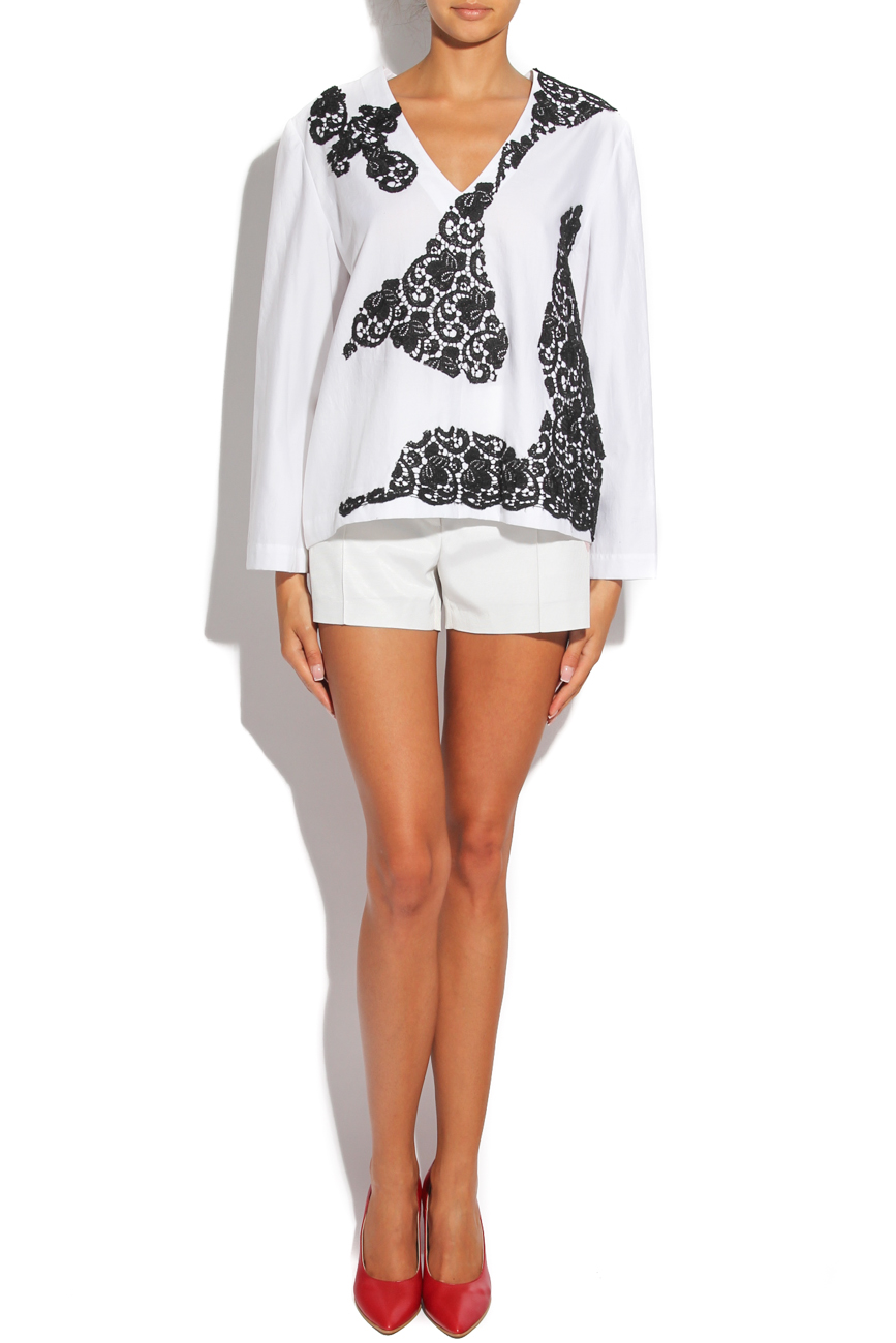 Shirt with embroidery Dorin Negrau image 0