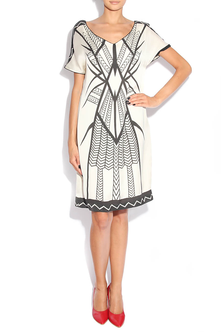 Dress with tribal signs Adriana Agostini  image 0