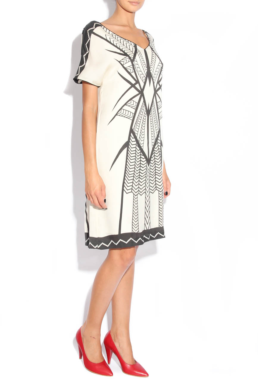Dress with tribal signs Adriana Agostini  image 1