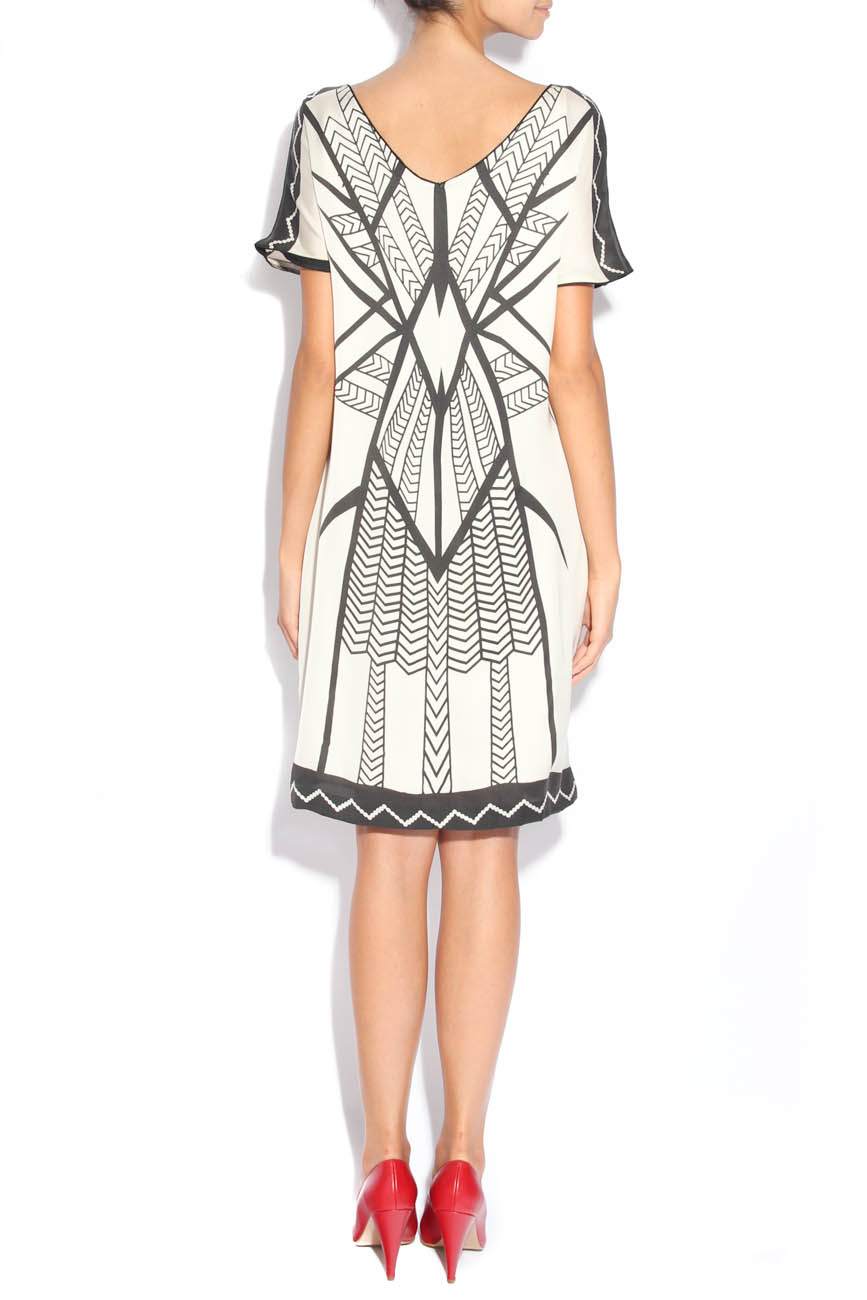 Dress with tribal signs Adriana Agostini  image 2