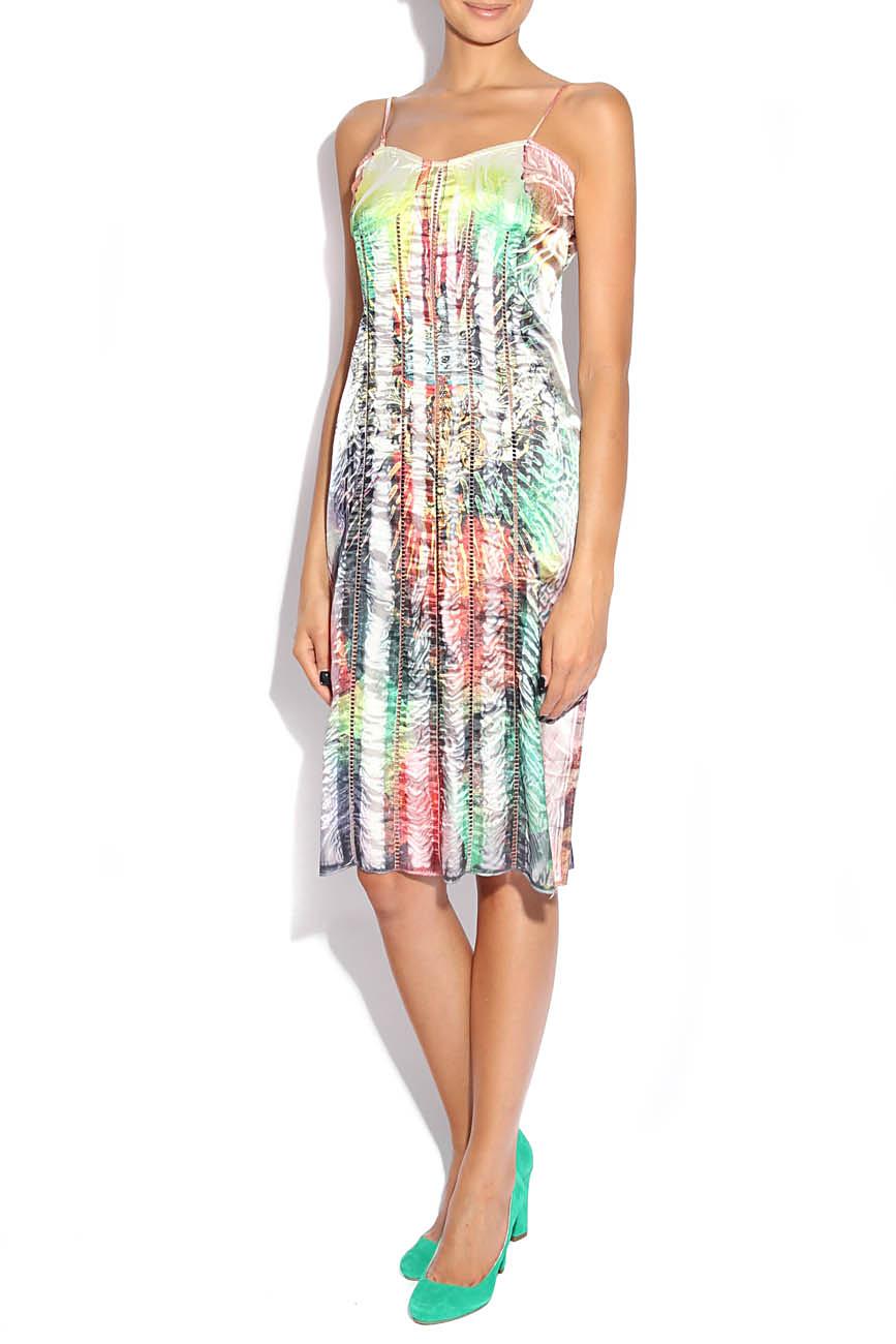 Multicolored dress Adriana Agostini  image 1