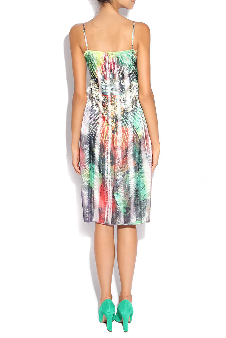 Multicolored dress Adriana Agostini  image 2