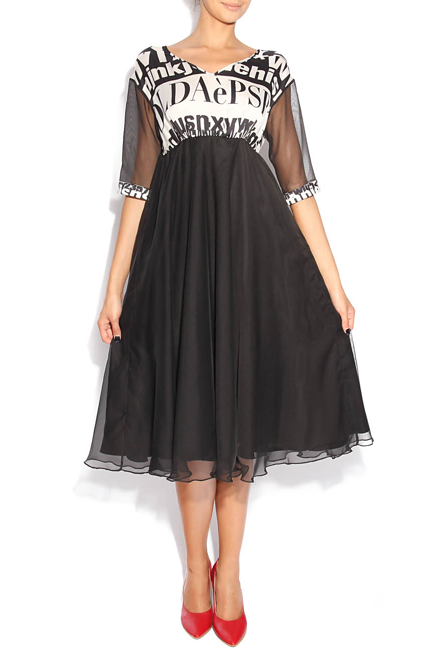 Dress with letters Adriana Agostini  image 0