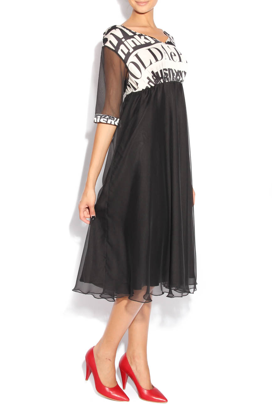 Dress with letters Adriana Agostini  image 1