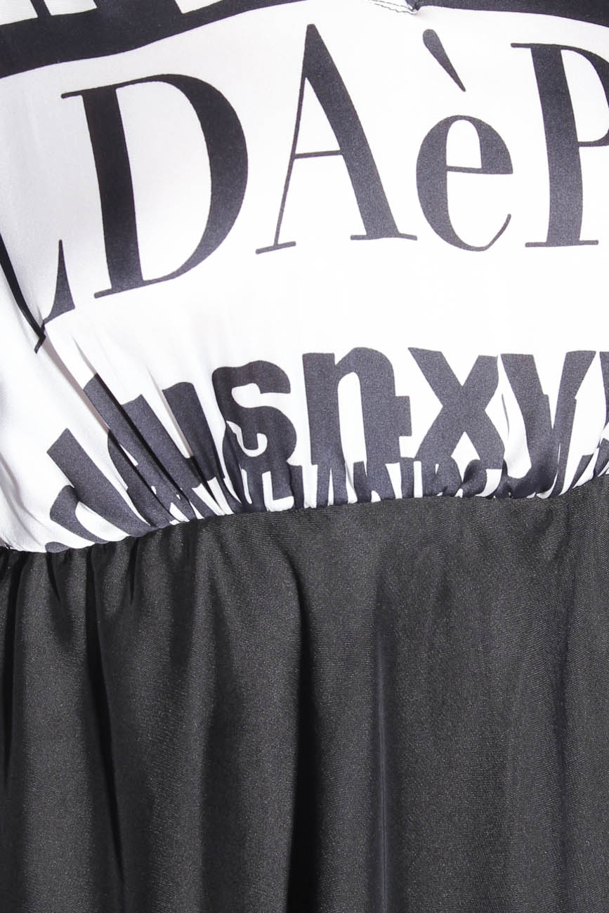 Dress with letters Adriana Agostini  image 3