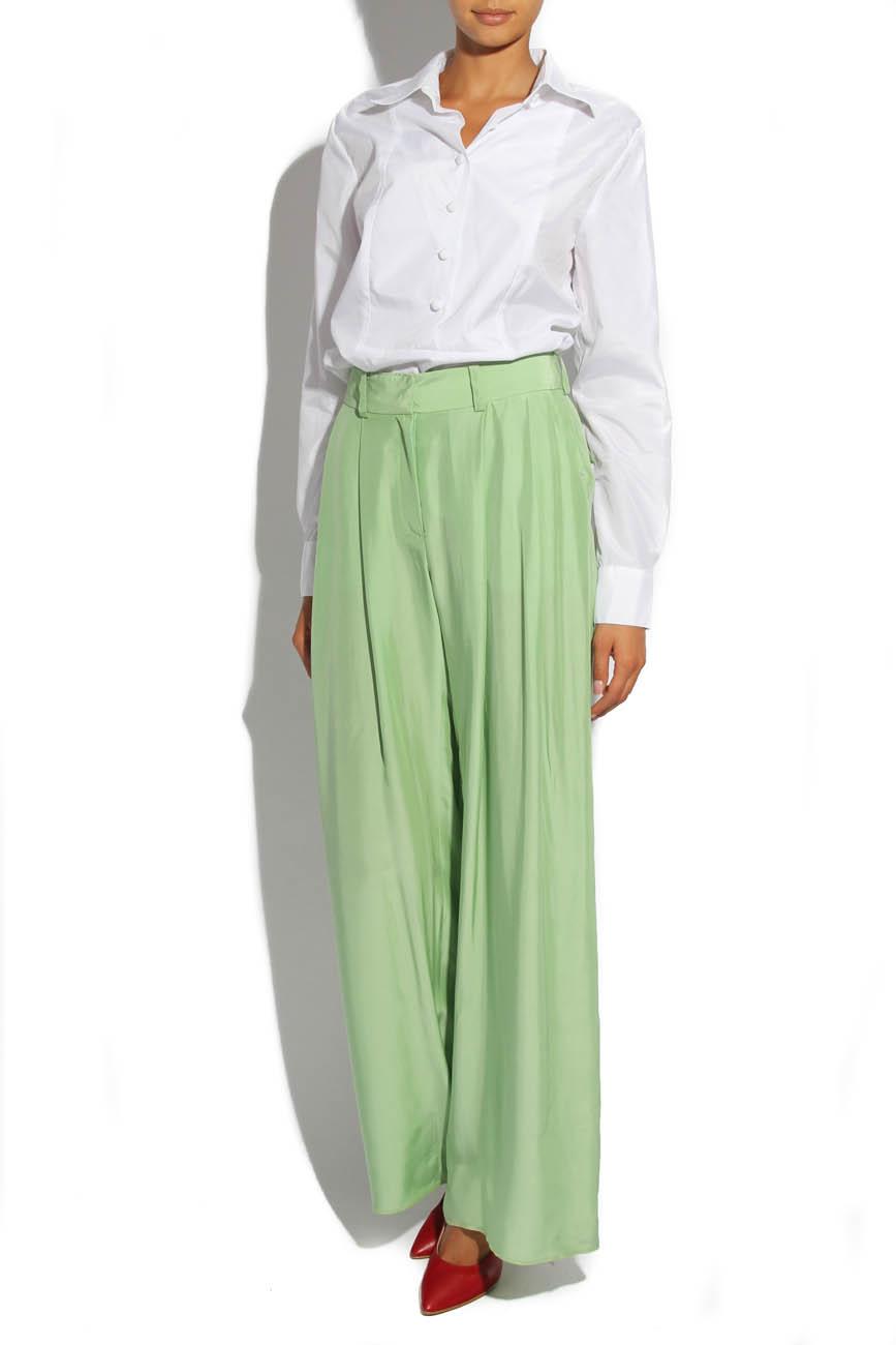 Lime trousers Lena Criveanu image 1