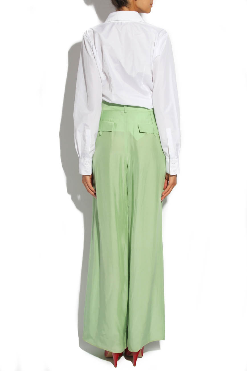 Lime trousers Lena Criveanu image 2