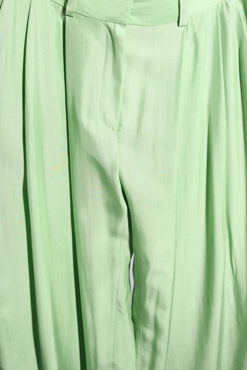 Lime trousers Lena Criveanu image 3