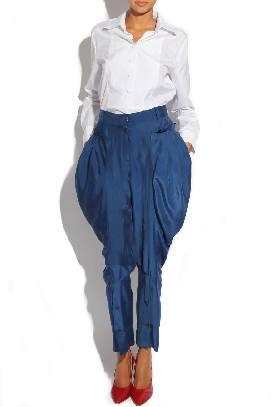 Trousers with folds Lena Criveanu image 0