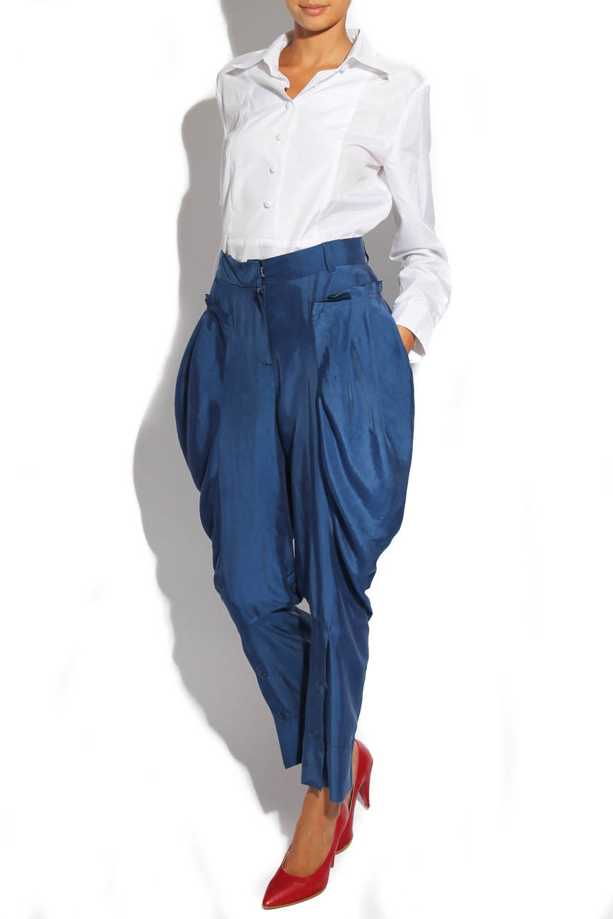 Trousers with folds Lena Criveanu image 1