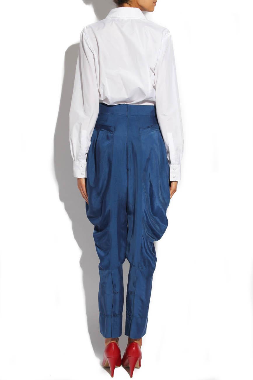 Trousers with folds Lena Criveanu image 2