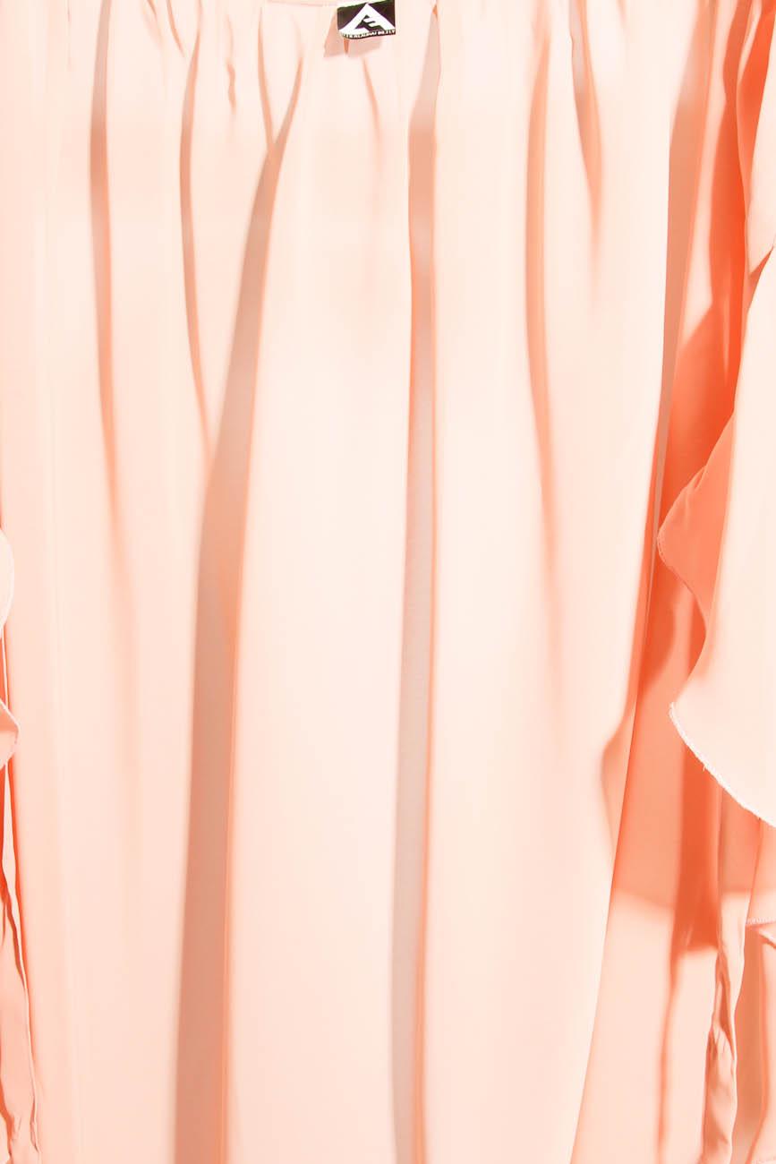 Asymmetrical PEACH Skirt  Laura Firefly image 3