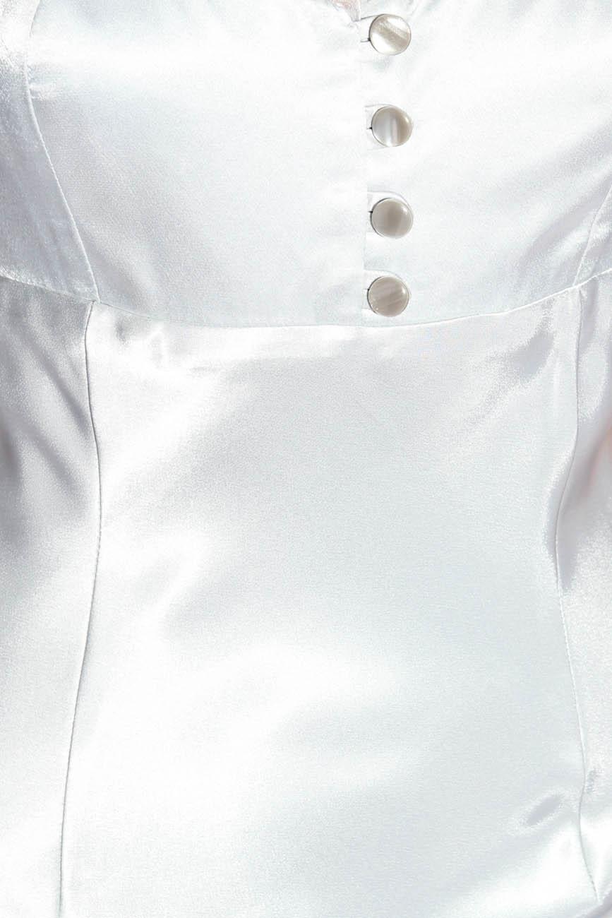 Pearl gray dress Adriana Agostini  image 3
