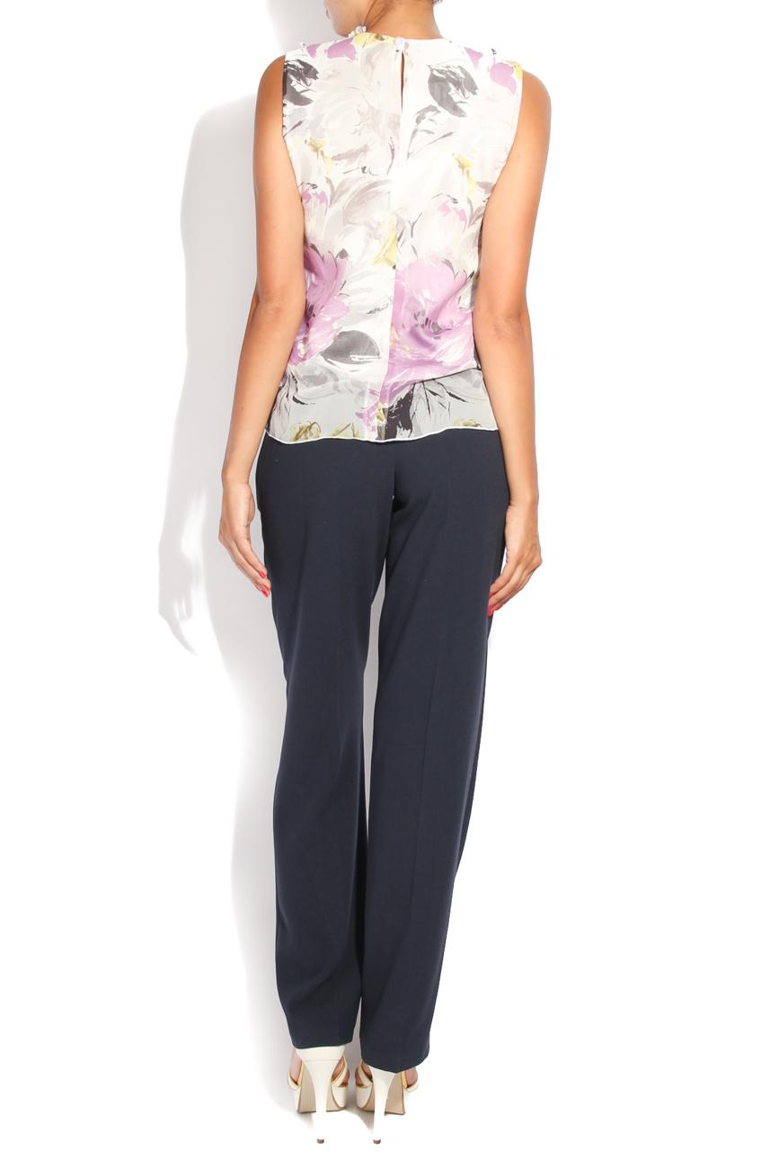 Blouse with ruffles collar Diana Bobar image 2