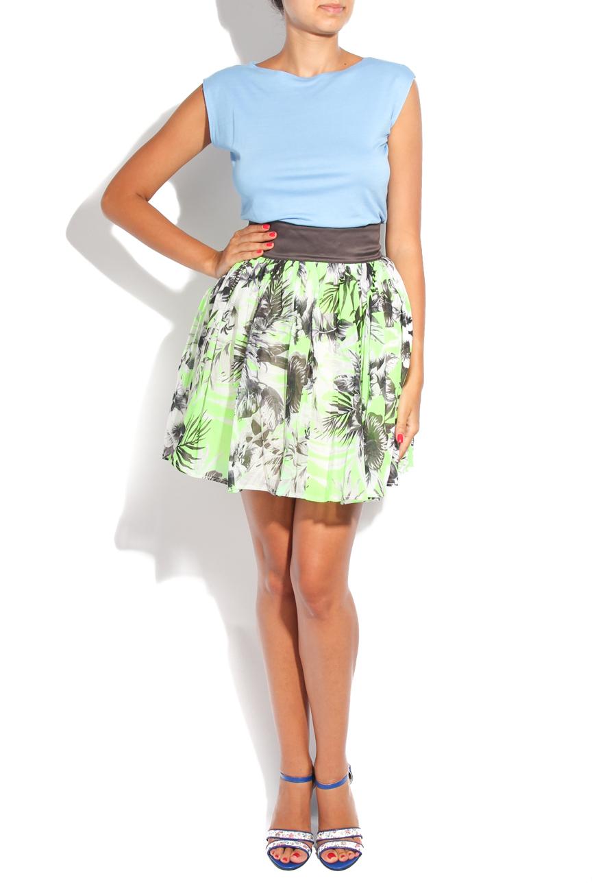 Neon flower skirt Diana Bobar image 0