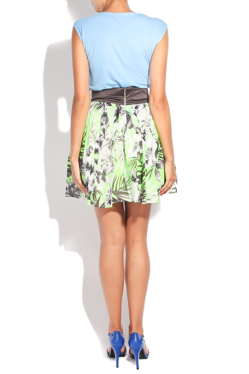Neon flower skirt Diana Bobar image 2