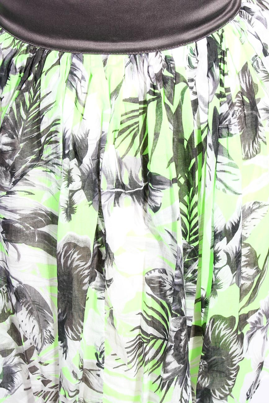 Neon flower skirt Diana Bobar image 3