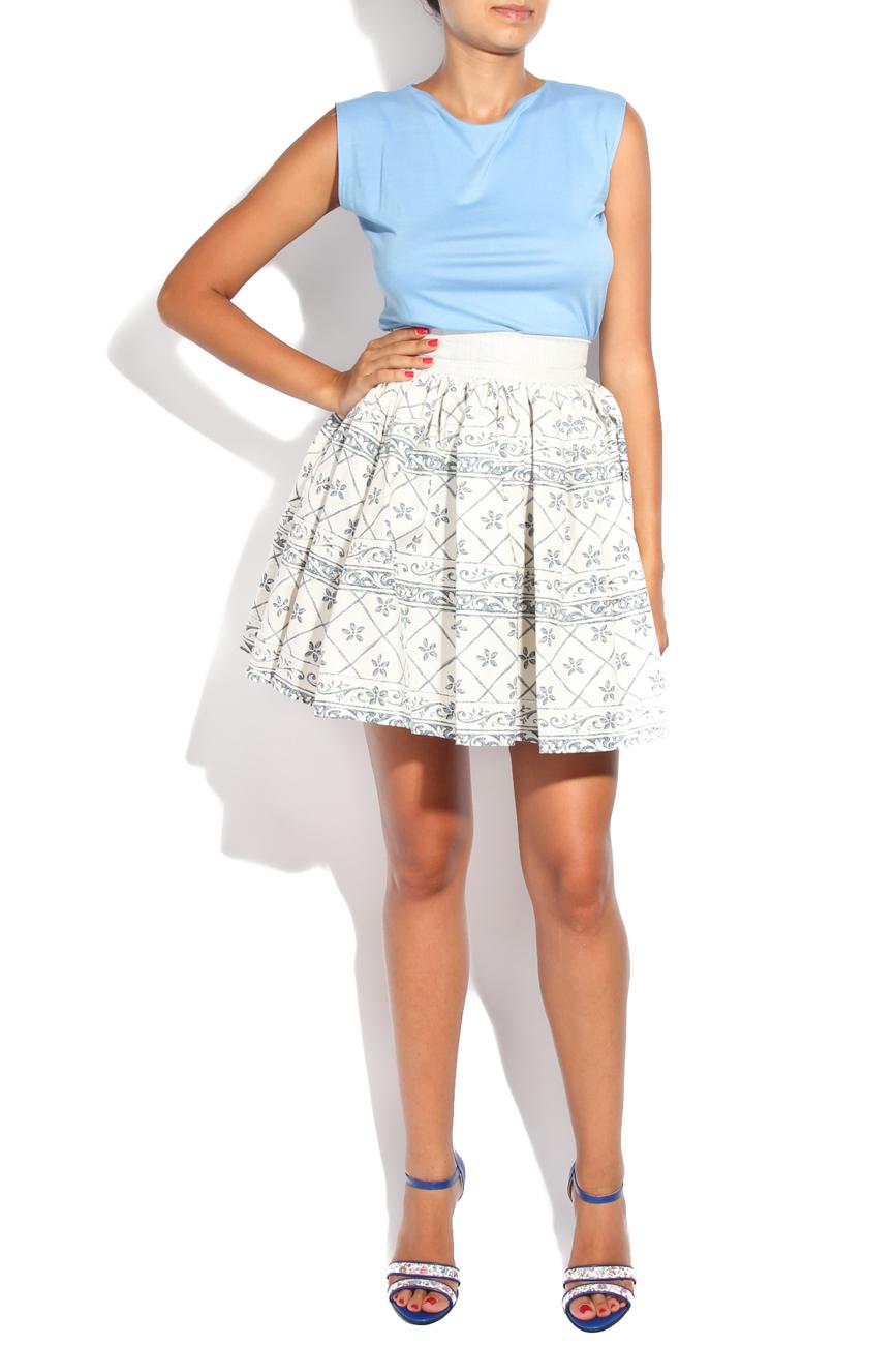 Tea pot I print skirt Diana Bobar image 0