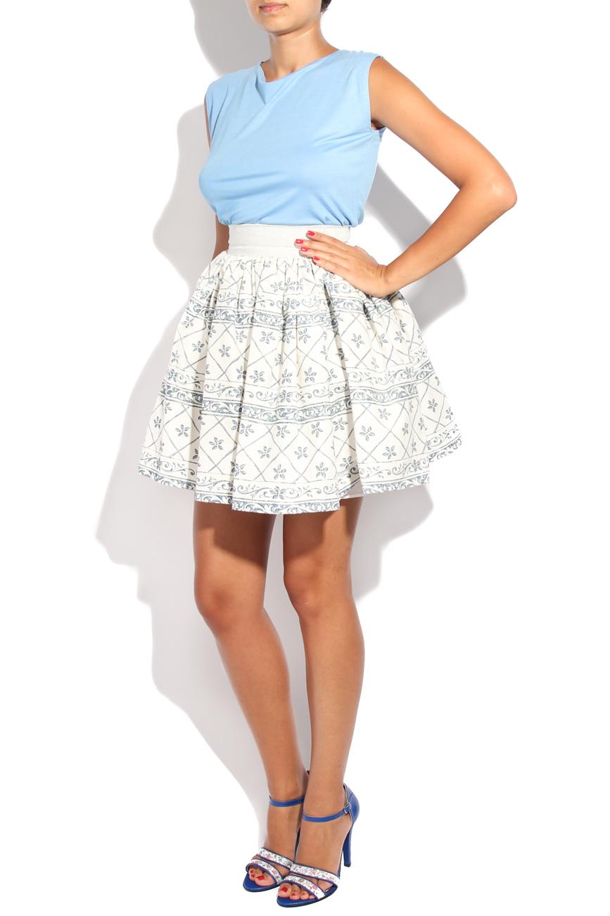 Tea pot I print skirt Diana Bobar image 1