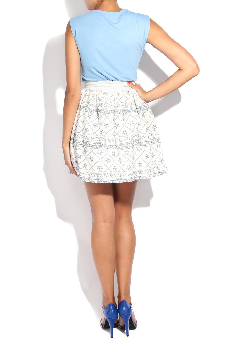 Tea pot I print skirt Diana Bobar image 2