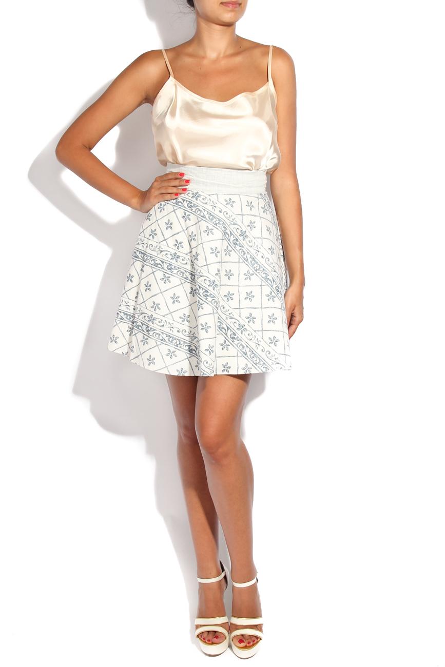 Tea pot II print skirt Diana Bobar image 0