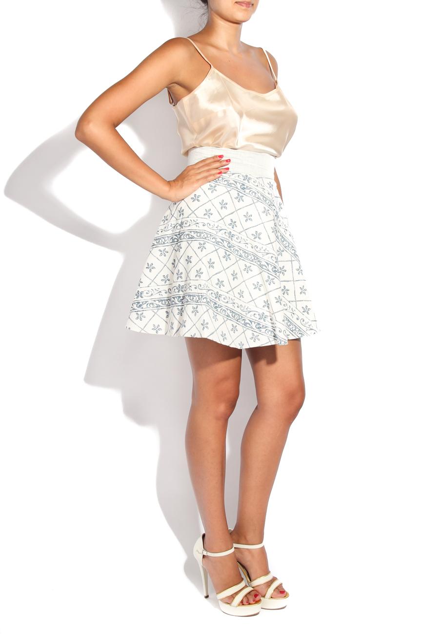 Tea pot II print skirt Diana Bobar image 1