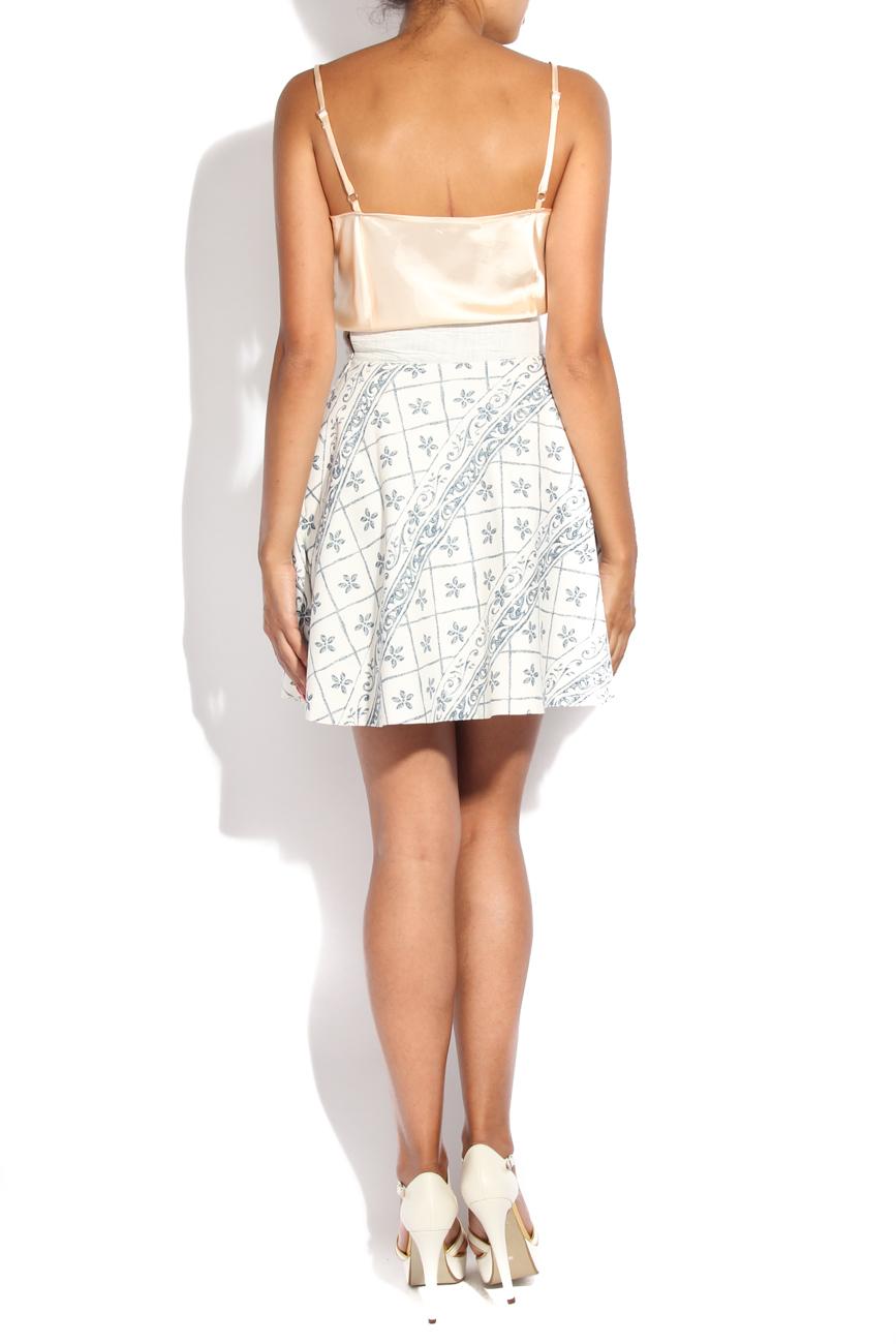 Tea pot II print skirt Diana Bobar image 2
