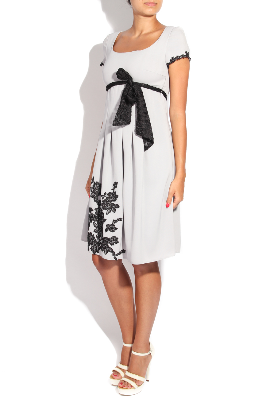 Dress with black embroidery Adriana Agostini  image 1