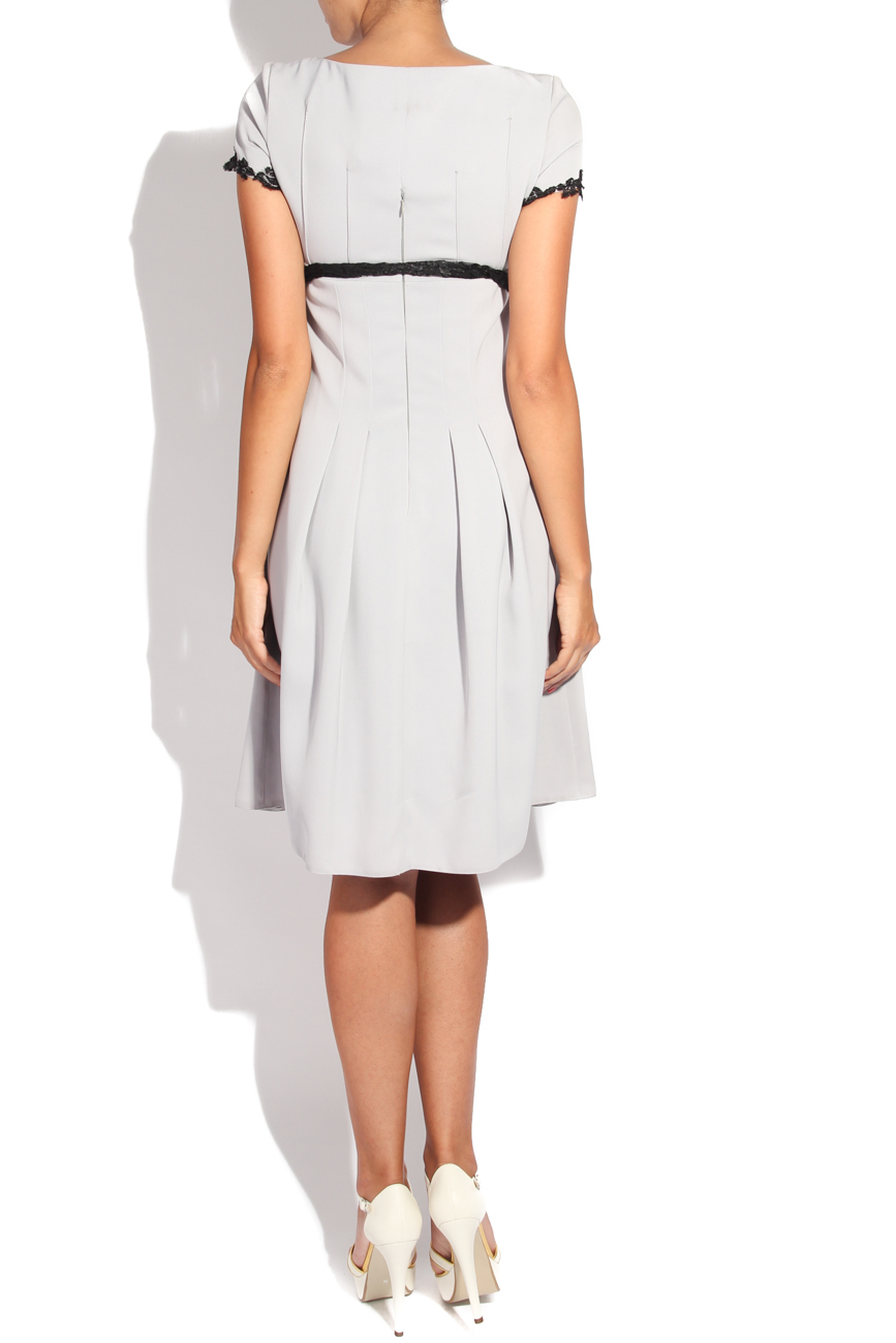 Dress with black embroidery Adriana Agostini  image 2