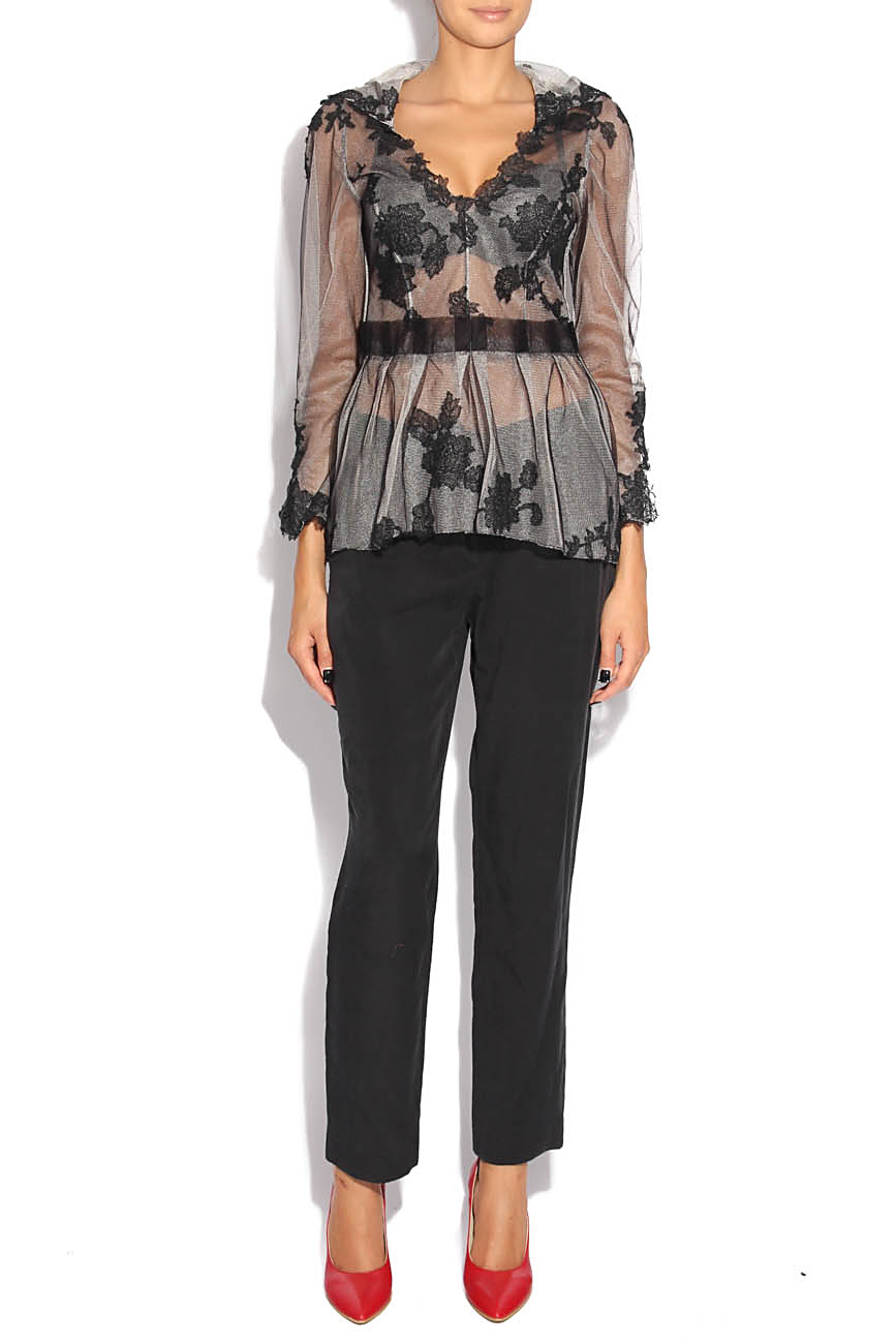 Blouse with embroidery Adriana Agostini  image 0