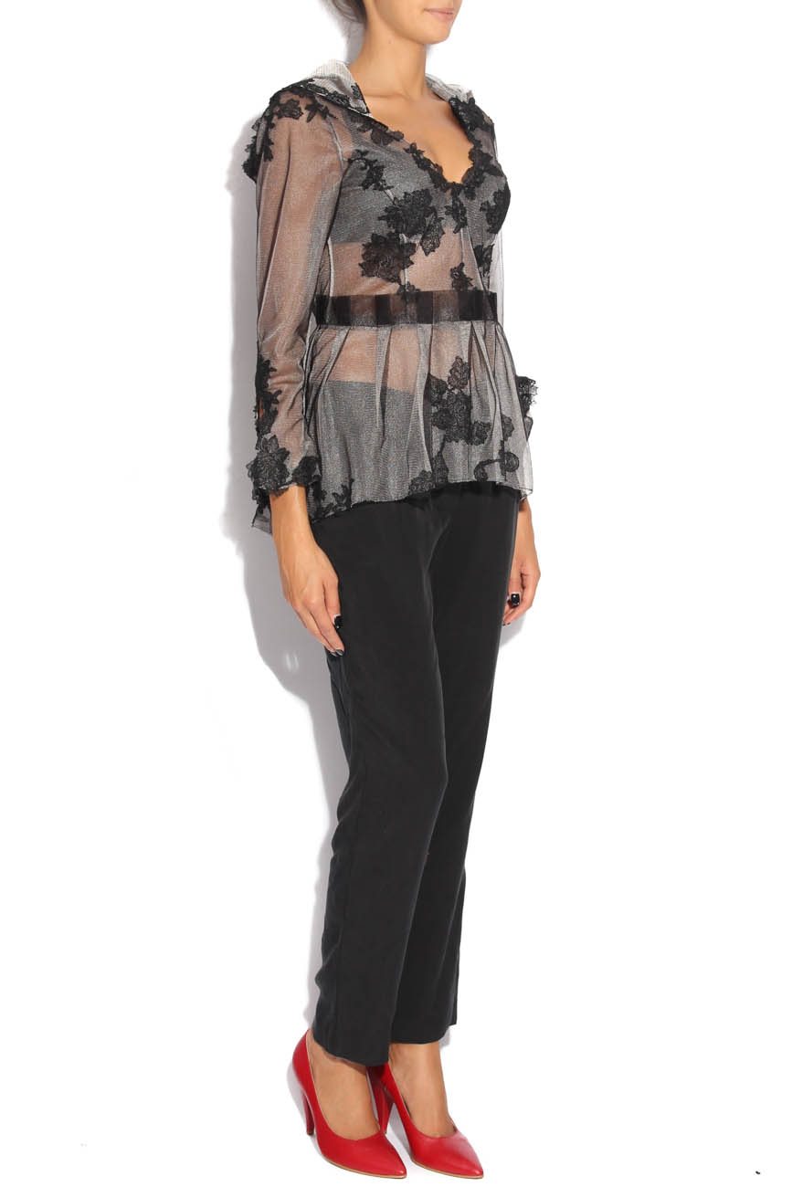 Blouse with embroidery Adriana Agostini  image 1