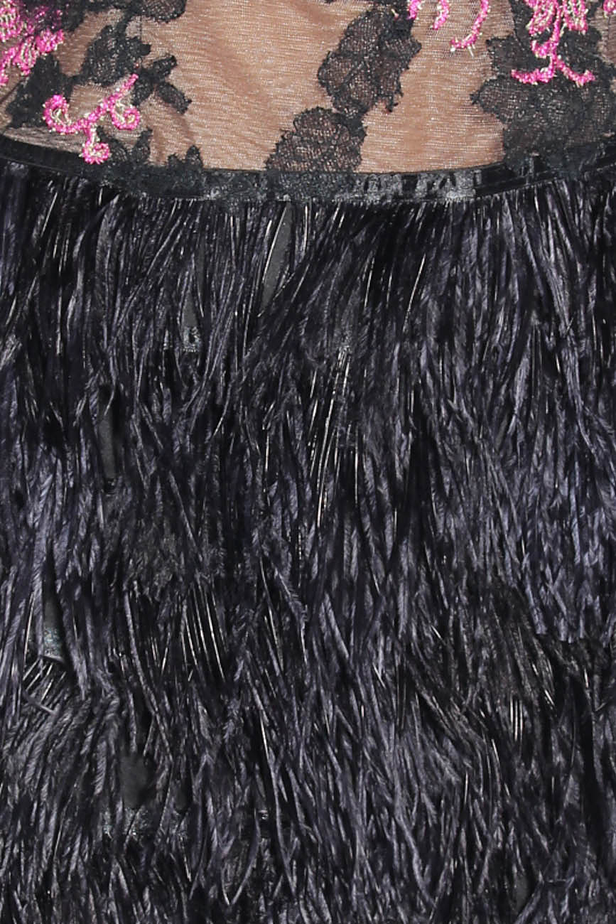 Dress with feathers Adriana Agostini  image 3