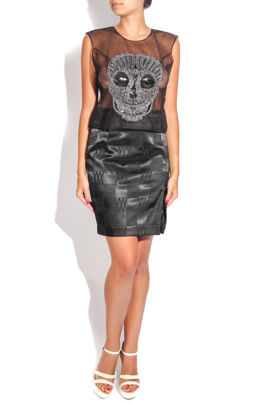 Skull blouse Adriana Agostini  image 0