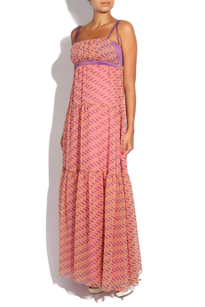 Pink fantasy dress Adriana Agostini  image 1