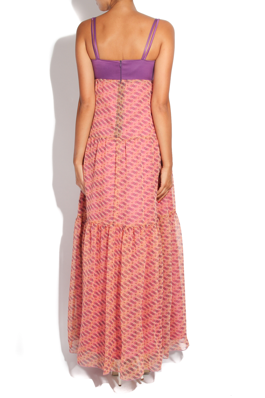 Pink fantasy dress Adriana Agostini  image 2