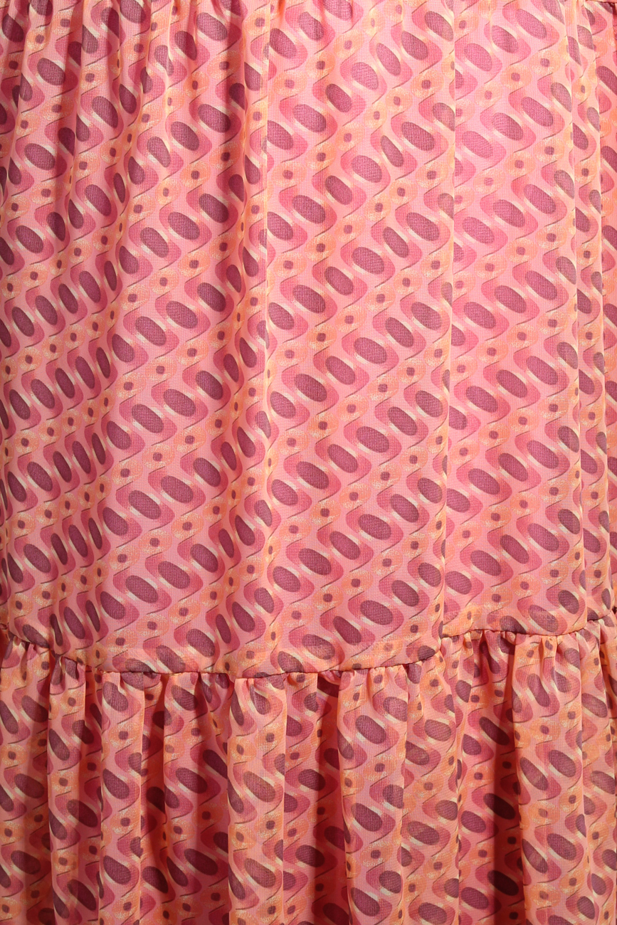 Pink fantasy dress Adriana Agostini  image 3