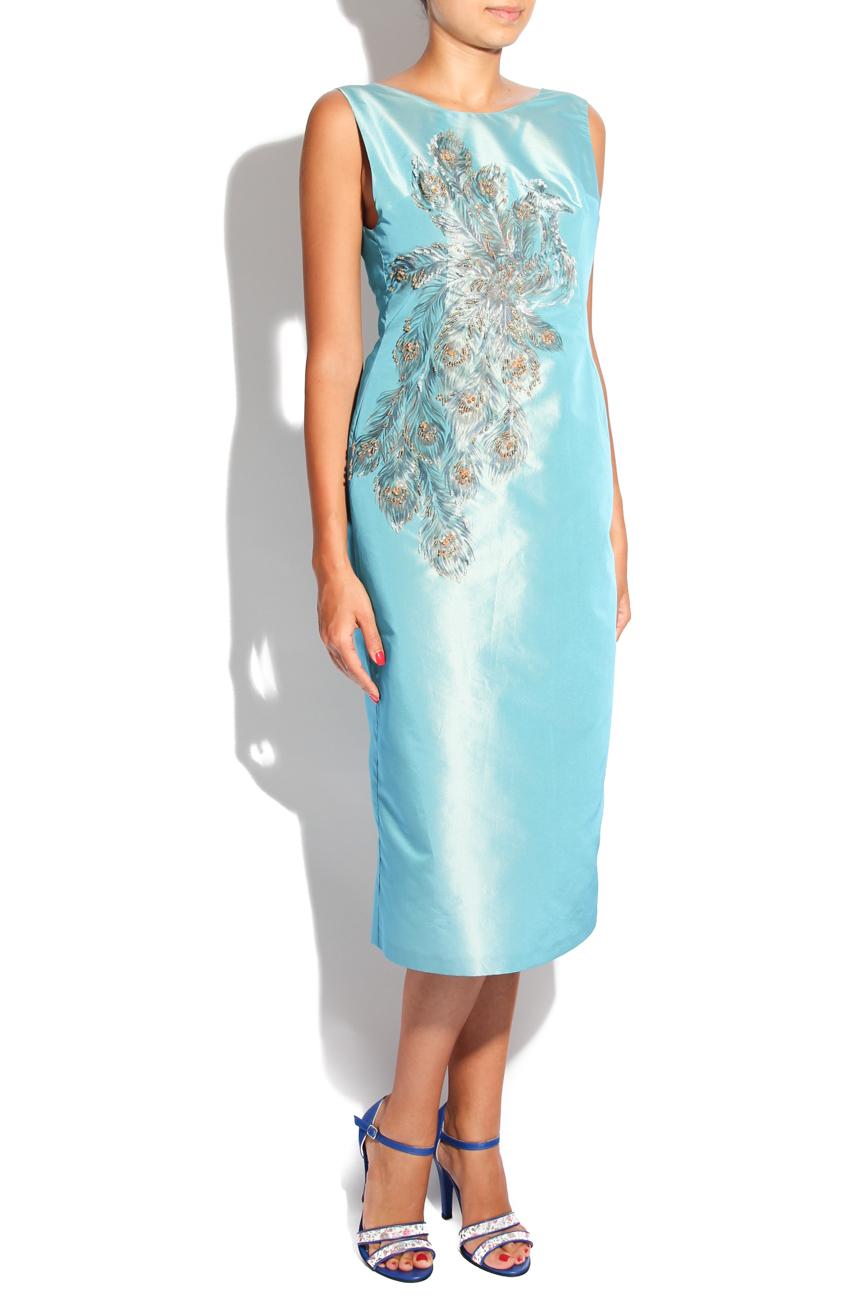 Peacock dress Adriana Agostini  image 1