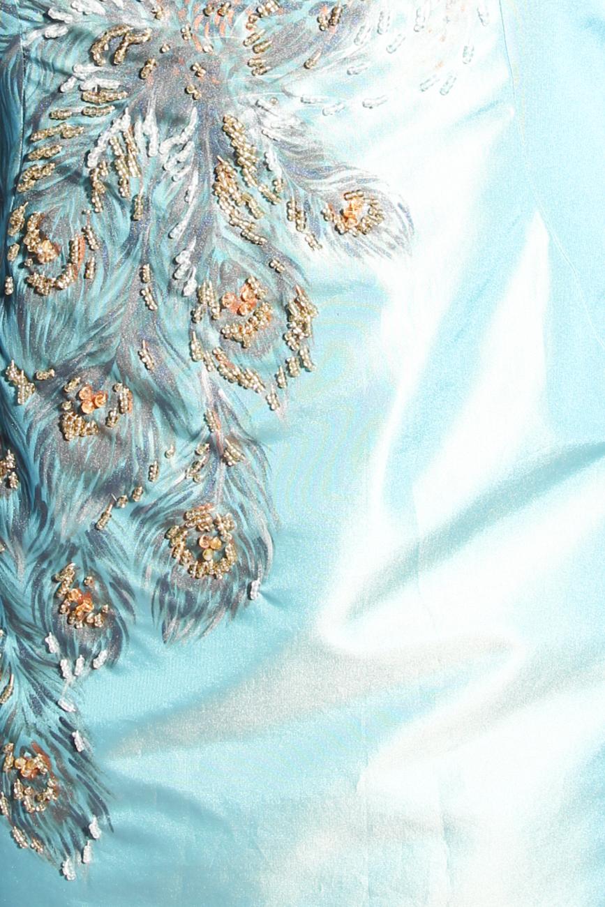 Peacock dress Adriana Agostini  image 3