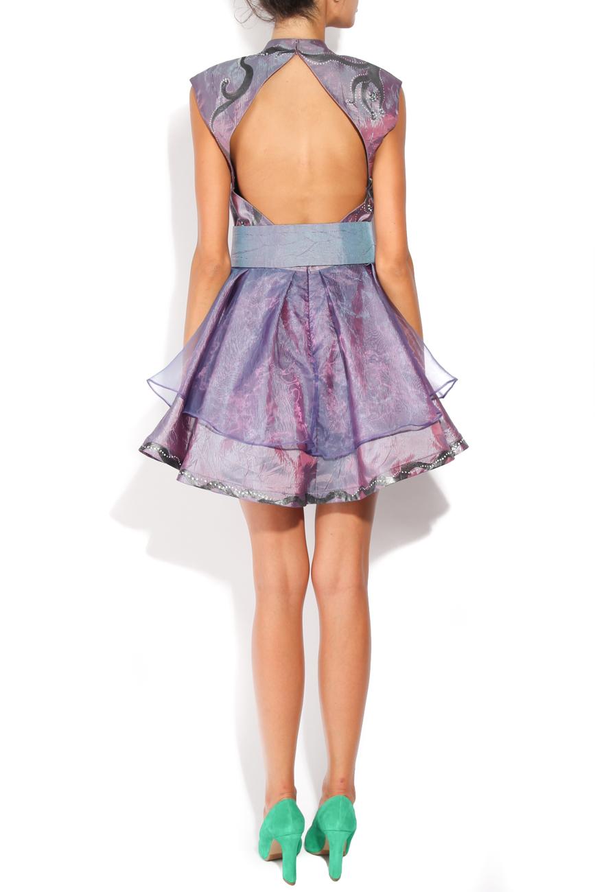 Lila painted dress Adriana Agostini  image 2