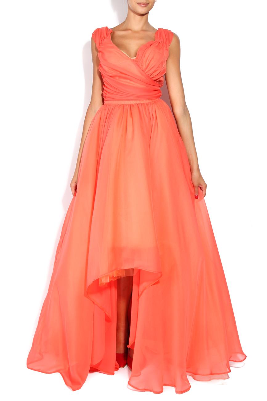 Royal Tangelo dress Arina Varga image 0