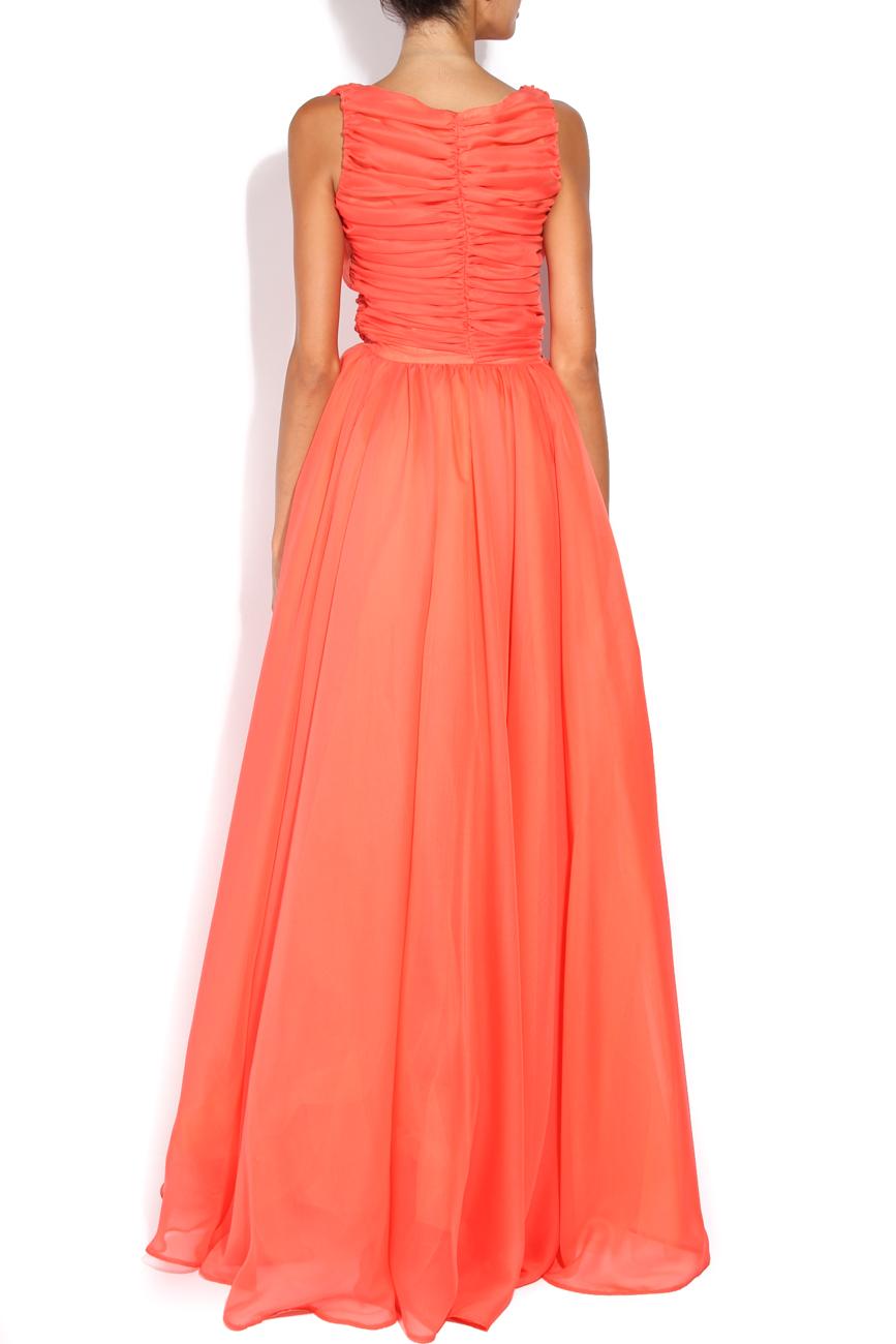 Royal Tangelo dress Arina Varga image 2